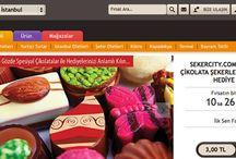 Kampanyalı Çikolatalar / Birbirinden Lezzetli Çikolataları artık hediye etmek daha kolay. Şekercity kampanyaları ve Yakala.co kampanyası ile uygun fiyatlı lezzetli çikolataları artık takip edebileceksiniz.