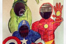 avengers&superheroes bithday party ideas
