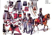 Napoleonic  hussars