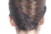French Pleat Style Ideas / French pleat or French Twist is a classic and dead-easy hairstyle which suits every occassion...♥  If you love French Pleat, join the community here: http://www.facebook.com/FrenchPleatLovers