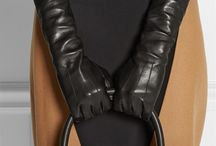 Leather Accessories for Her / Leather Belts & Gloves