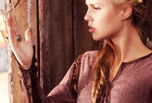 Warrior C. - Carol Driscoll / Priestess of Lion monastery, portrayed by Claire Holt