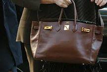 brown leather / bag