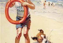 Art 1900s / Beach