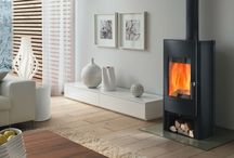 Rika wood burning stoves from Euroheat / Here you are sure to find a woodburning stove that is right for you and your decor. RIKA's woodburning stoves are unique in quality and design.