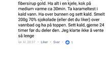 LCHF snop