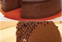 DocesPudim de liquidificador de chocolate