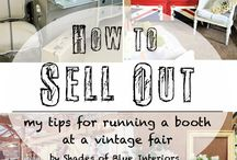 Selling vintage decor items / Vintage booths at fairs
