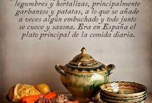 cuisine espagnole / d'origine espagnole par mon papa, je tiens à garder certaines habitudes alimentaires, qui représentent tellement de souvenirs