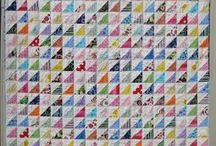 Half Square Triangle HST Quilts