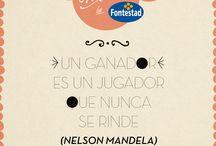 Frases #Fontastics! / Frases o citas que te llenan de vitalidad, como nuestras naranjas!!