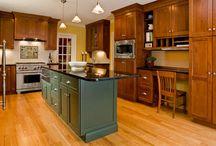 Oak Kitchen