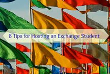 Welcoming an Exchange Student / How can I make my exchange student feel welcome?  What makes a comfortable student room?   What should the welcome sign look like?  I am an International Exchange Coordinator with EF High School Exchange Year.  Not only can I host an amazing teen, but I get paid for helping connect other host families to students!  Contact me for more info!
