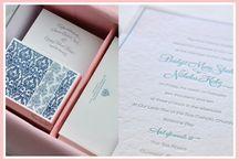 Stationary - Letterpress / Letterpress cards, invitations or personal stationary