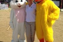Easter Festival / Come out to celebrate spring time with these awesome characters at the Chesapeake Beach Water Park!