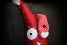 Ζωάκια μαξιλάρι / Χειροποίητα πλασματάκια με ονοματεπώνυμο για πολλές αγκαλιές!