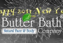 """Happy 2014 / The Butter Bath Company will be ushering in our new """"video blog"""" this year.  We figure this will make it fun, fast, informative, and entertaining - AWESOME WAY TO WONDERFUL SKIN!  To subscribe to our blog visit www.butterbath.blogspot.com  #butterbath #facescrub"""