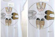 MANUME / T-shirt dipinte a mano