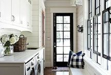 Home-laundry / mud room