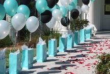 Theme:  Tiffany Party