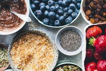 Skin food. / I want to look after you from the inside out. Healthy food, less healthy food. Recipes, inspiration, motivation. Platters, bowls, dishes.