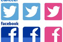 PINKicon / Social Media Icons for the Breast Cancer Awereness Month