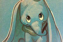 Smutny slonik Dumbo