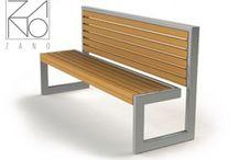 ławki i siedziska ogrodowe