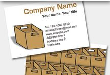 Cards for removal companies / We have wide range of designs for removal services, clearance companies and also templates for van drivers too. Pick your template from our colourful selection and simply type in your details to make the business card.