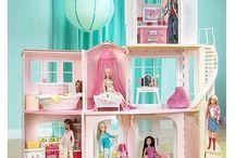 Barbie's Dollhouse / Barbie size furniture and stuff.