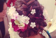 Wedding hair 和装