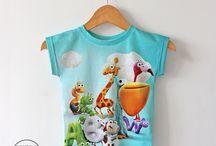 Koszulki dziecięce TVP ABC - wzory
