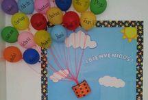 decoraion aula