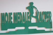 Wieszaki na medale / Wieszaki na medale- biegowe głównie, ale też wykonujemy dla każdego innego sportu!