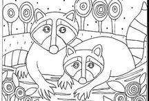 paper pattern folk art
