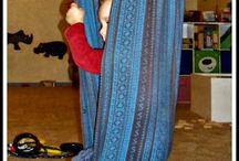 baby swing woven wrap