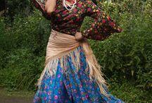 Romani gypsy dance