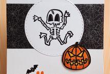 "Mes cartes ""Halloween""/ My cards ""Halloween"""