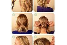Bridesmaid hair / by Jessica Bowlin