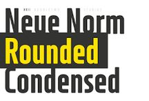XXII Neue Norm Rounded Font Download