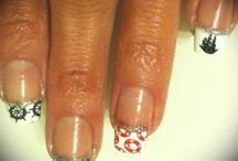 Stamping nail art / nail art