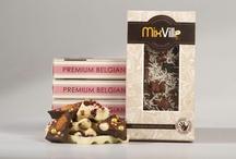 Chocolate / Шоколад из сырья ведущего производителя основ для шоколада – бельгийской фирмы Barry Callebaut + 5 ингредиентов из 120 имеющихся (орехи, фрукты и др.)