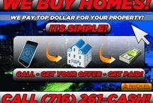 Sell Your House Fast Buffalo / Do You have an UnWANTED PRoperty? • Are you deal with a Vacant property?   • Problem Tenants?   • An Inherited Property? • A Little Behind in Payments? • Back taxes? • Violations? We are premier Real Estate Investors who can be there to help with Your Real Problems! We're Looking to buy any size house, multi or single family, ANY Condition ANY Location. Call NOW!!. We're Here 24/7 to answer your Calls. No Voicemail. 716-261-CASH