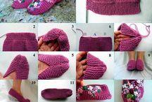 ruční práce / háčkování,pletení,šití