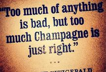 It's just champagne!