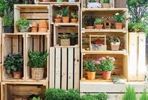 Tuin/garden / Dingen om zelf te maken voor in de tuin