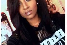 Kinky Malaysian Cuticle Hair silky straight lace front wigs