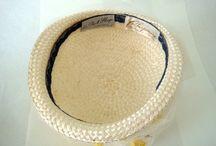 Vintage hat: Chapeaux Paris Chicago / by Mary Robak