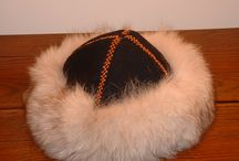 viking hat (fur lined)
