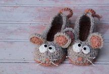 crochet slippers kids